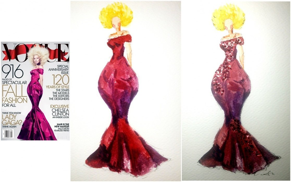 //New works!!// Texture. Color. Glamorous. - student project
