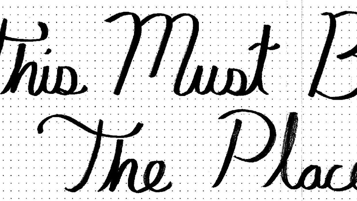 This Must Be The Place - student project