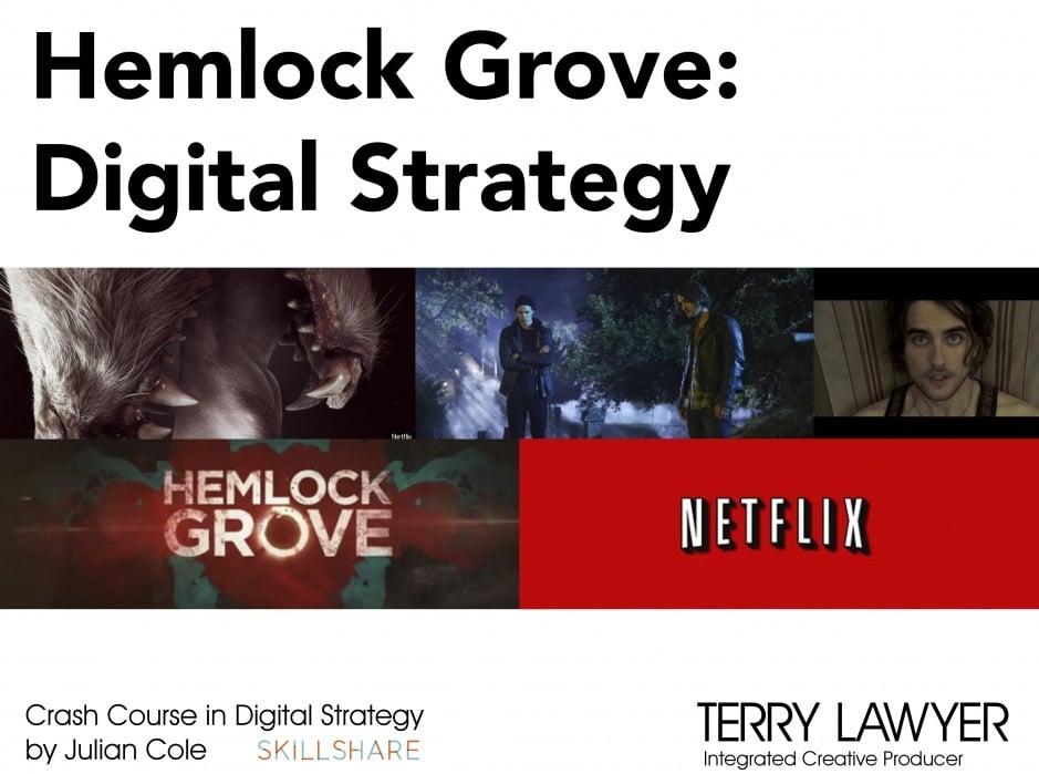 Hemlock Grove: Digital Strategy - student project