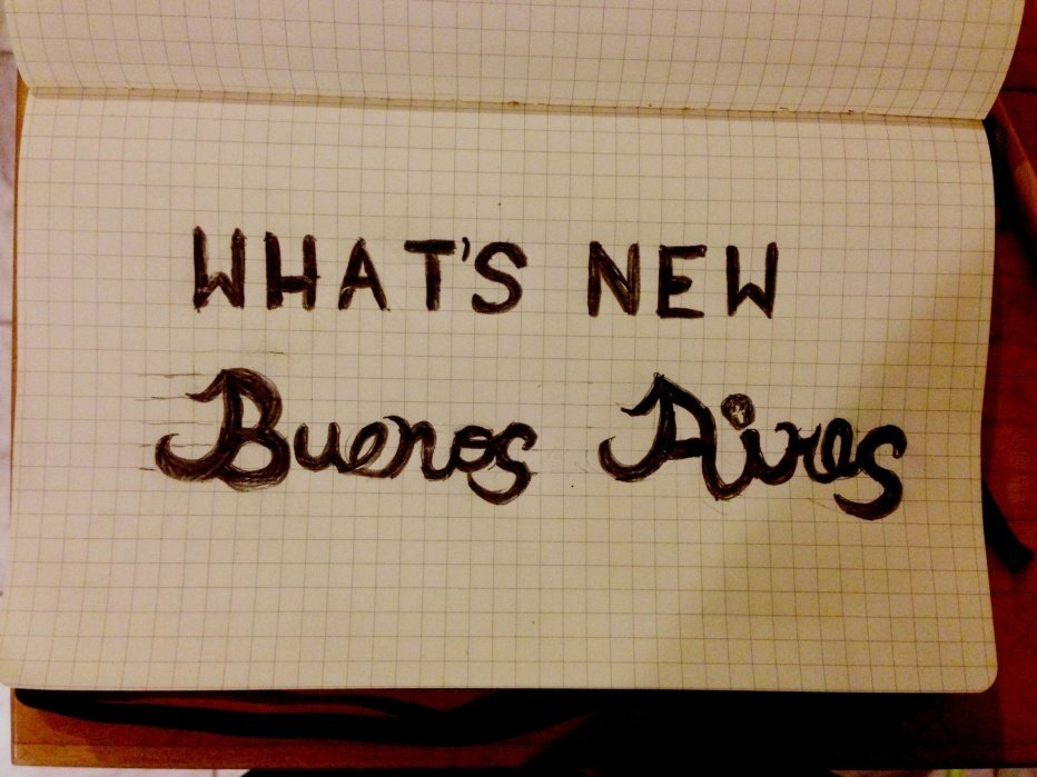 What's New Buenos Aires - student project