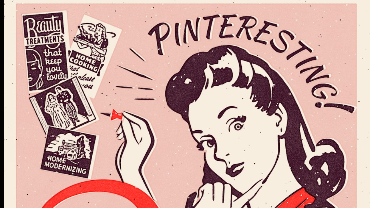 Pinterest  - student project