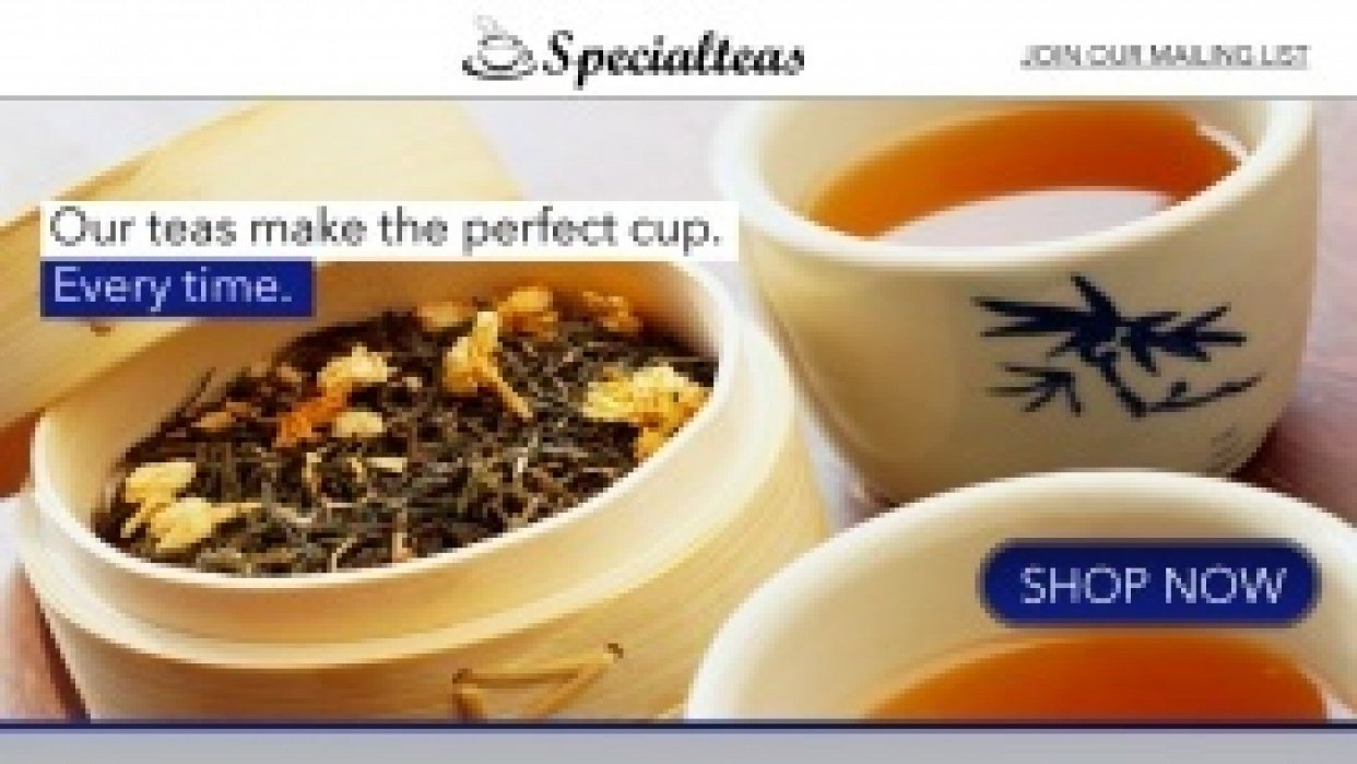 Specialteas - student project