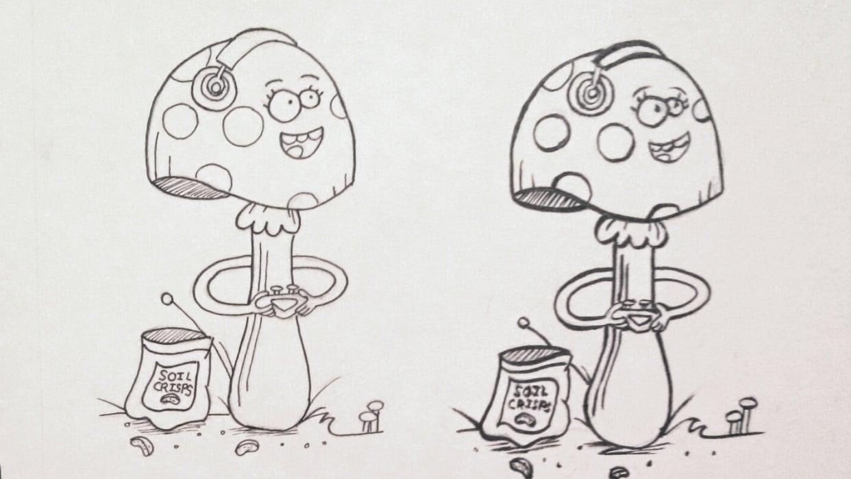 Inky Mushroom! - student project