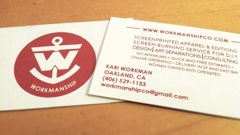 Workmanship Co. - student project
