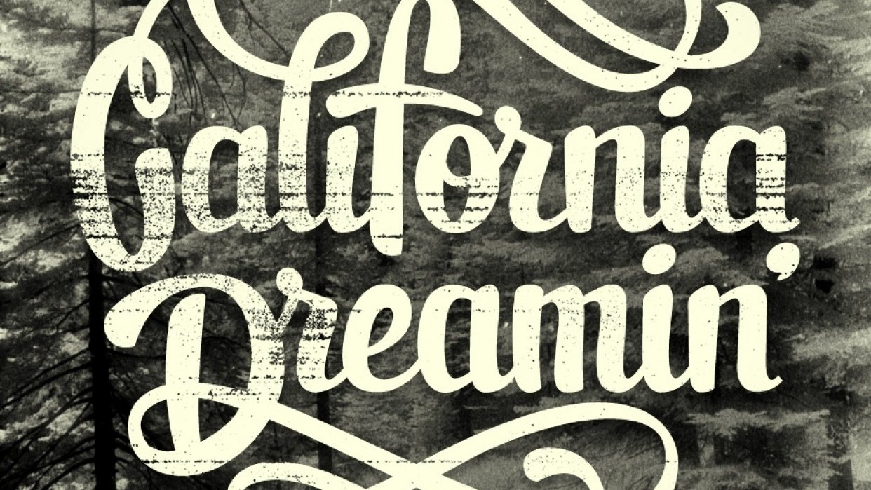 California Dreamin - student project