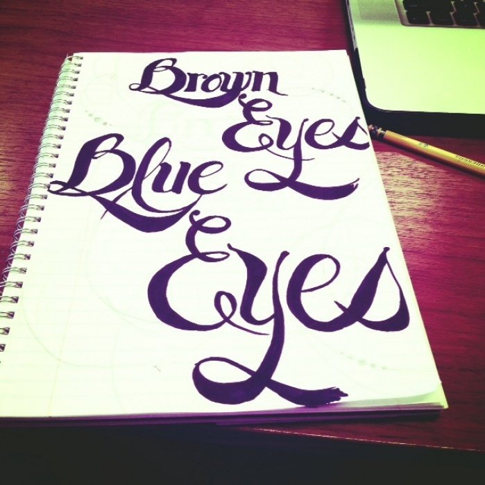 Brown Eyes Blue Eyes - student project