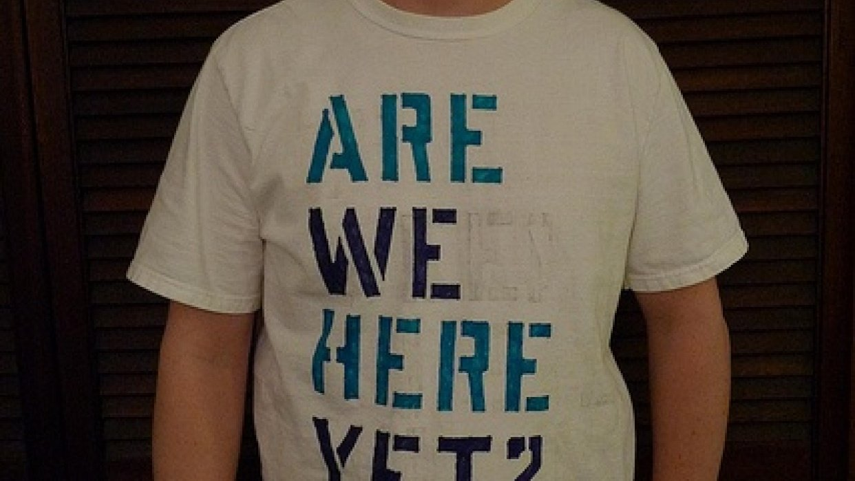 Are We Here Yet? - student project
