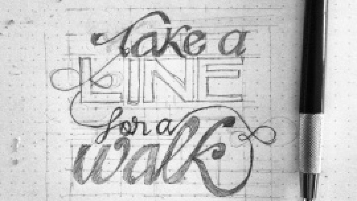 Take a line for a walk - student project