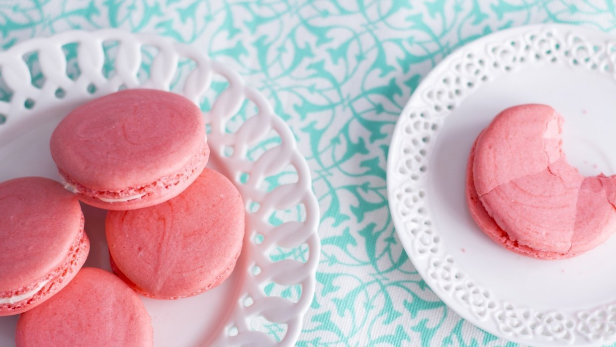 French Macarons - student project