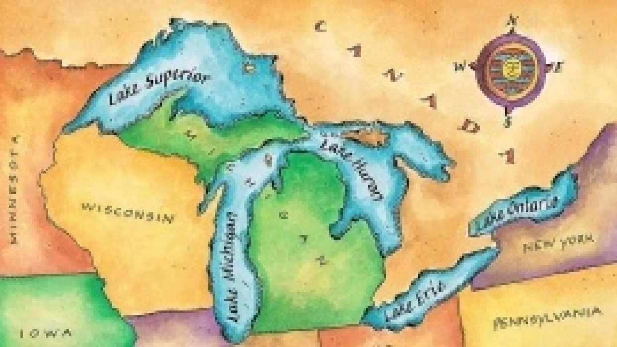 Great Lakes - student project