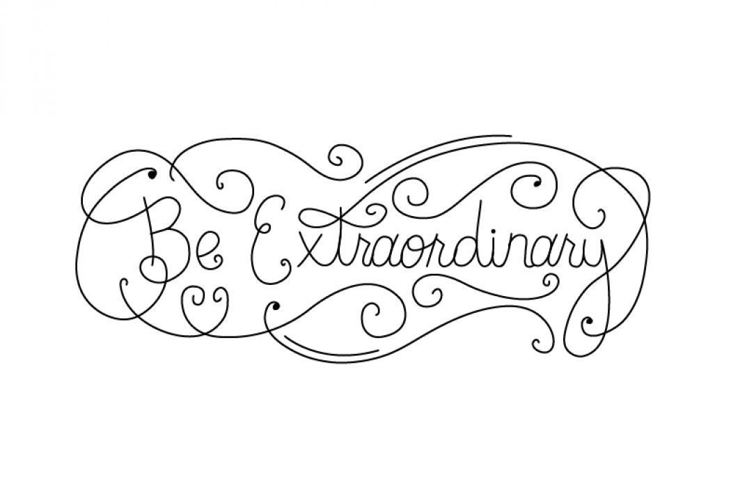 Be Extraordinary  - student project