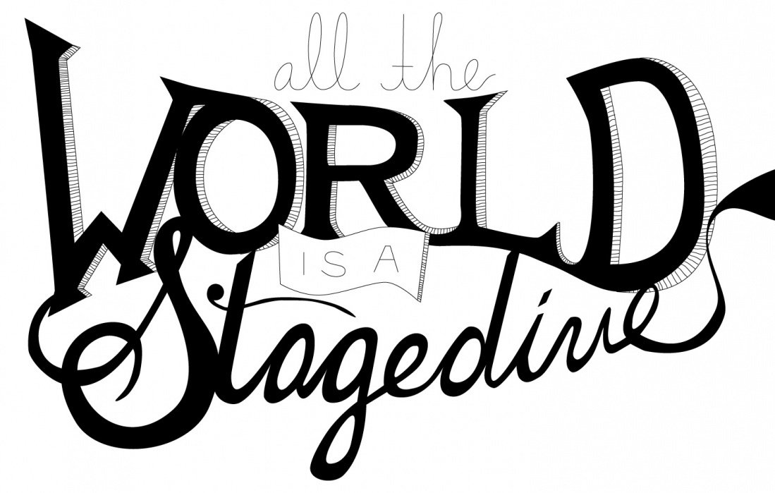 All the World is a Stagedive - student project