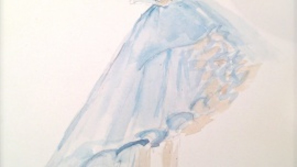 UPDATED WATERCOLOR  - Inspiration Antoinette - student project