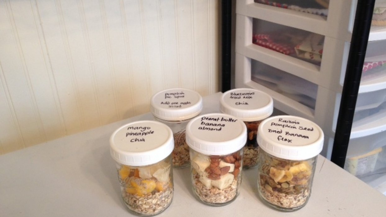 Granola breakfasts for this week - student project