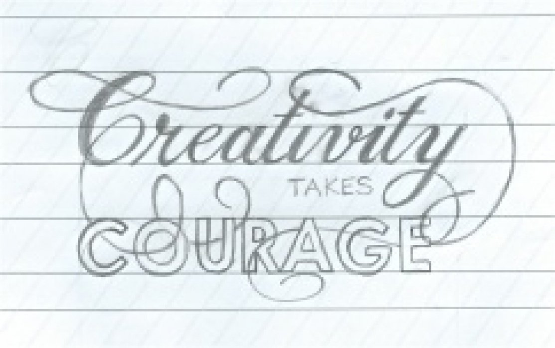 Creativity takes courage - student project