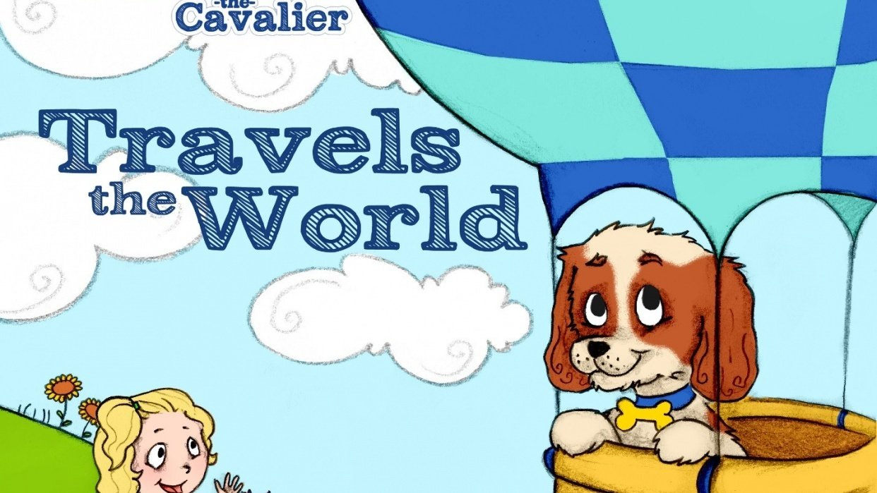 Charlie the Cavalier Travels the World - student project