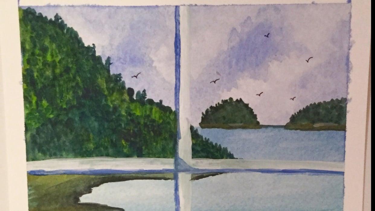 Window Scene - student project