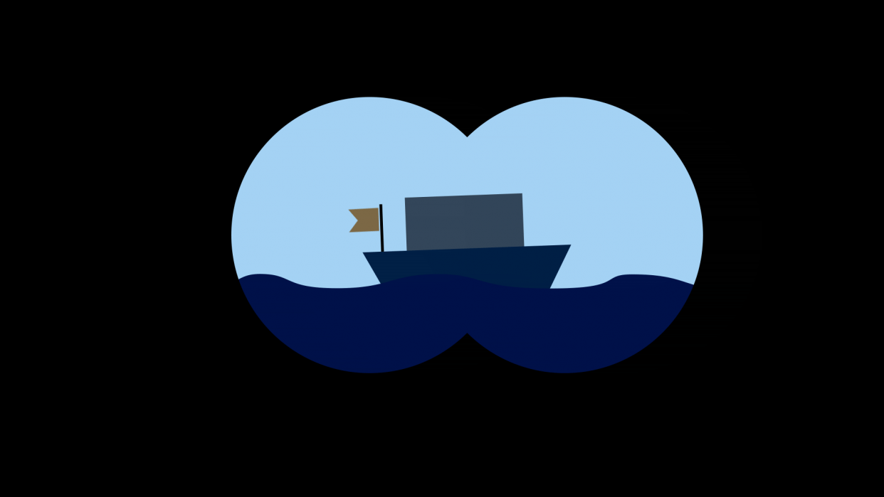Sailing away! - student project