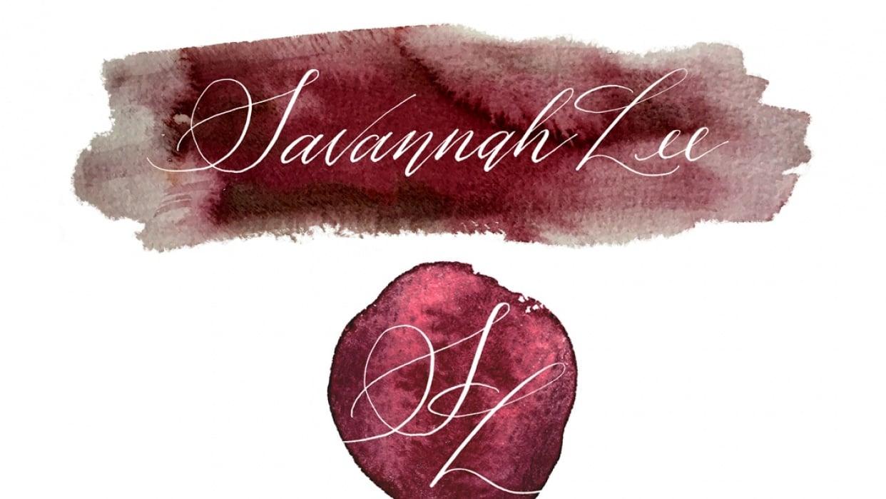 Watercolor Logo Design - student project