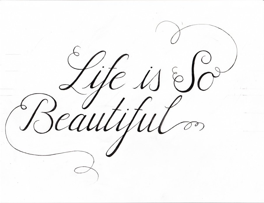 Life is So Beautiful - student project