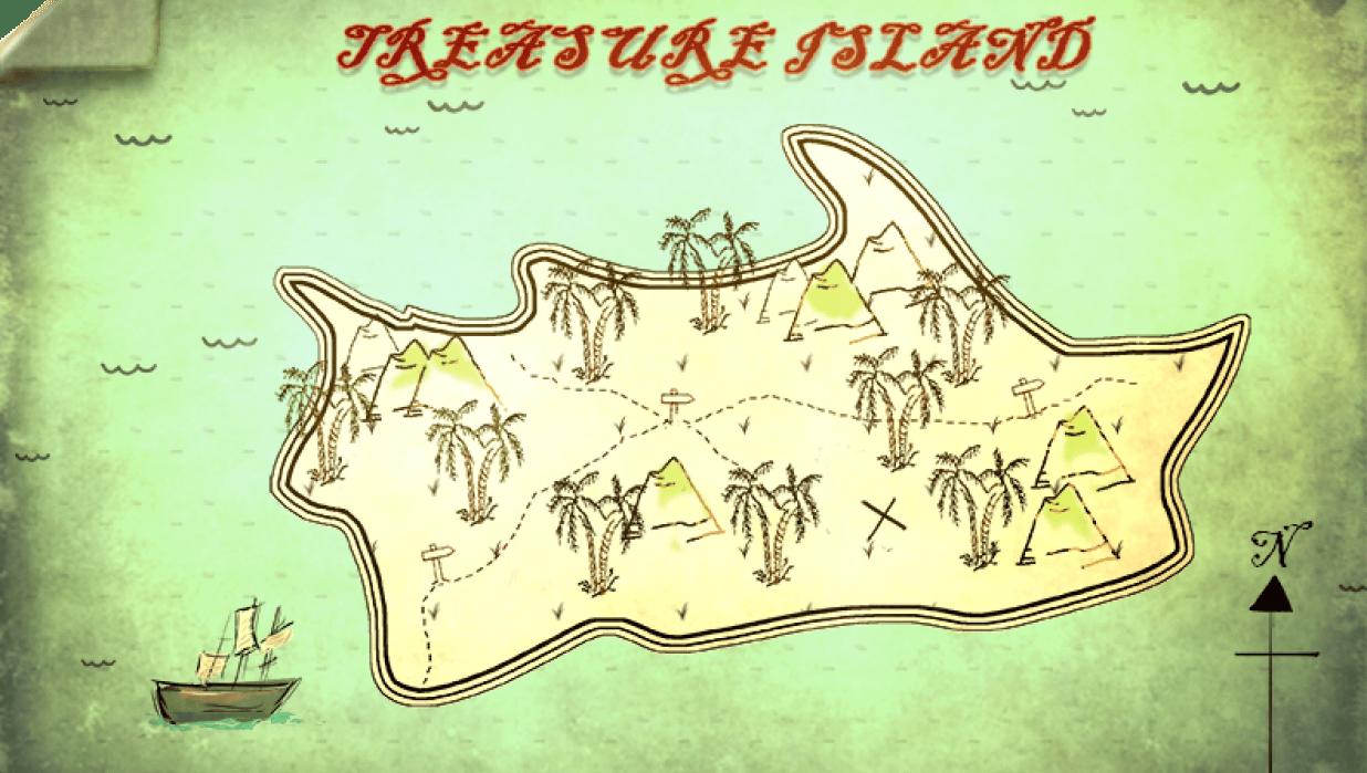 Treasure Island - student project