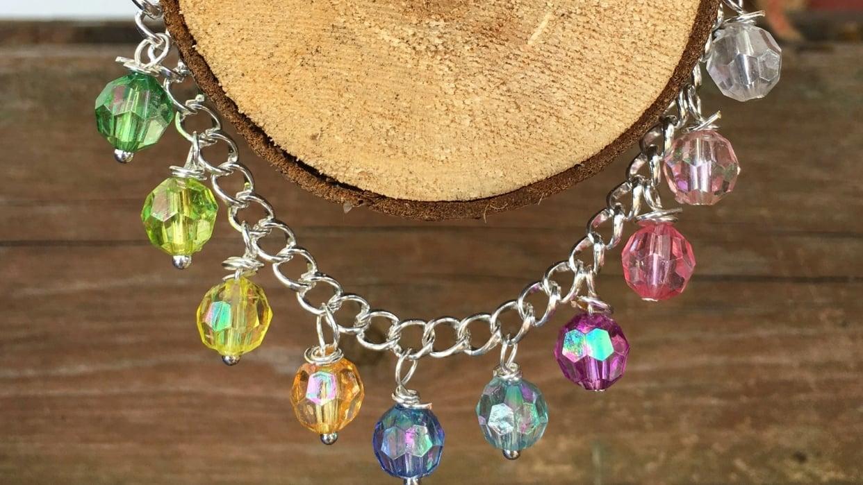 Dangling Bead Bracelet - student project