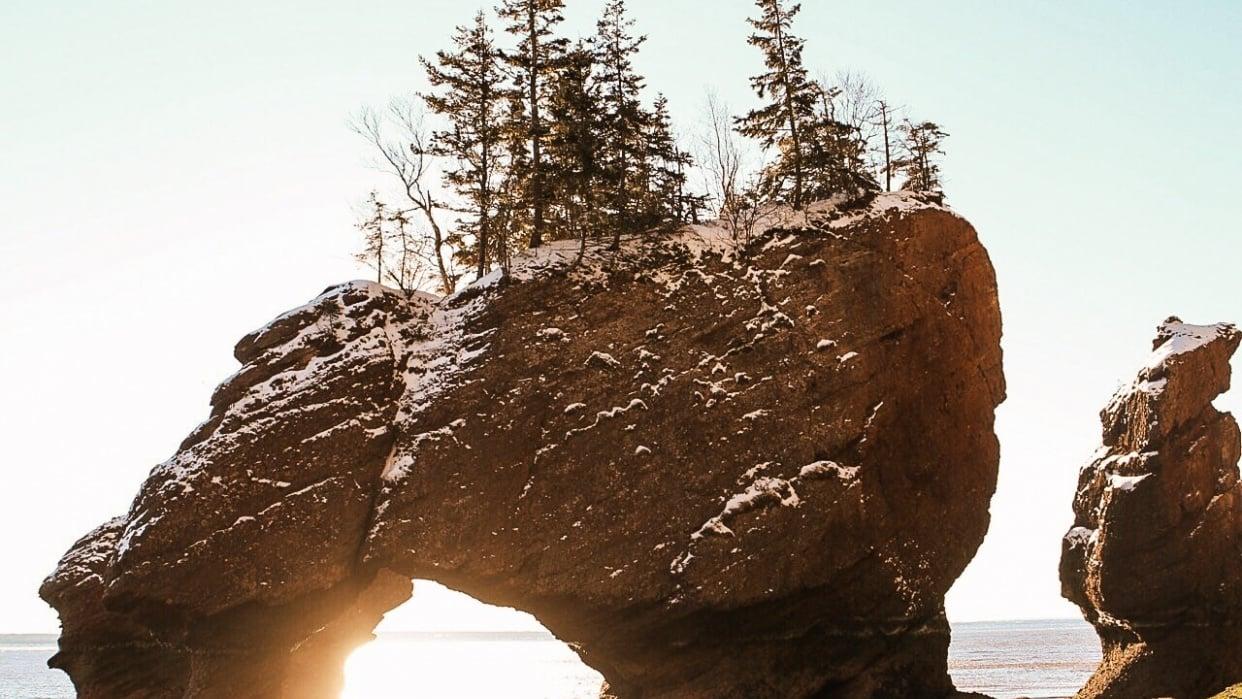 Hopewell Rocks, New Brunswick - student project