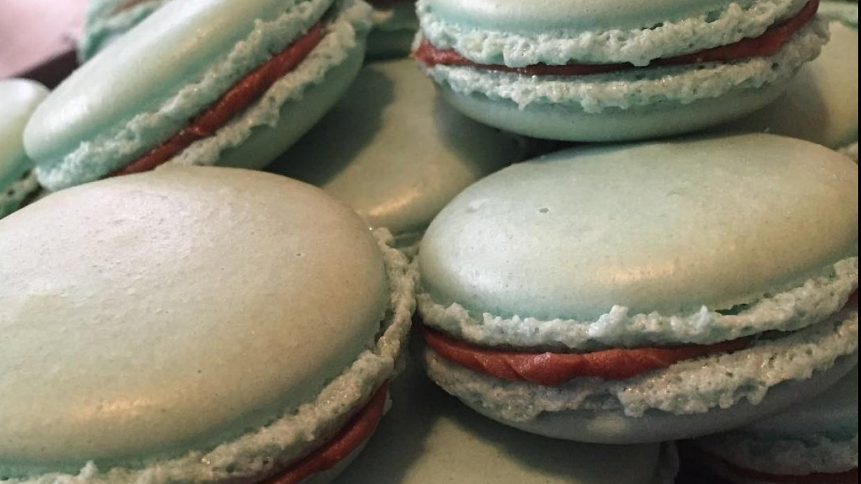 Macarons that I have made - student project