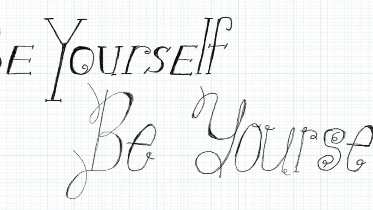 Be Yourself - student project