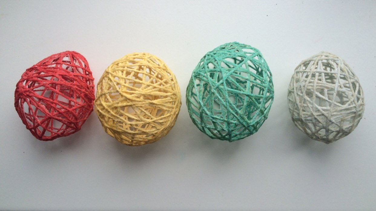Yarn Eggs - student project