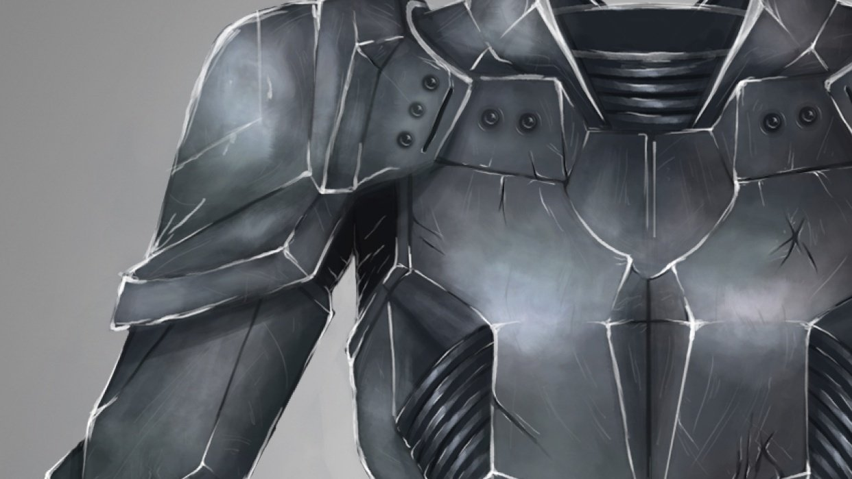 Battle armour - student project
