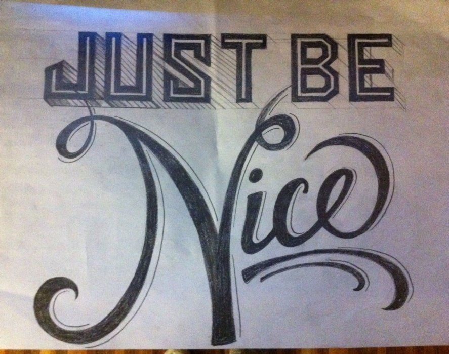 Just Be Nice... - student project