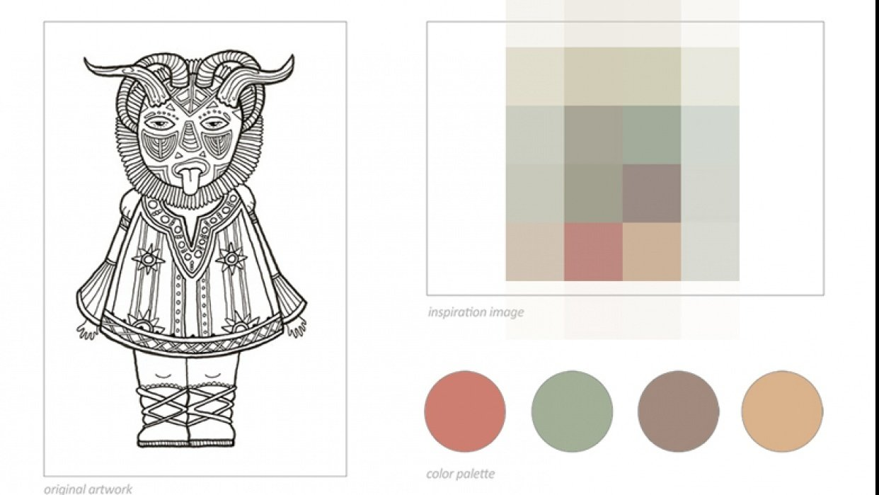 SAMPLE PROJECT: Color Palettes - student project