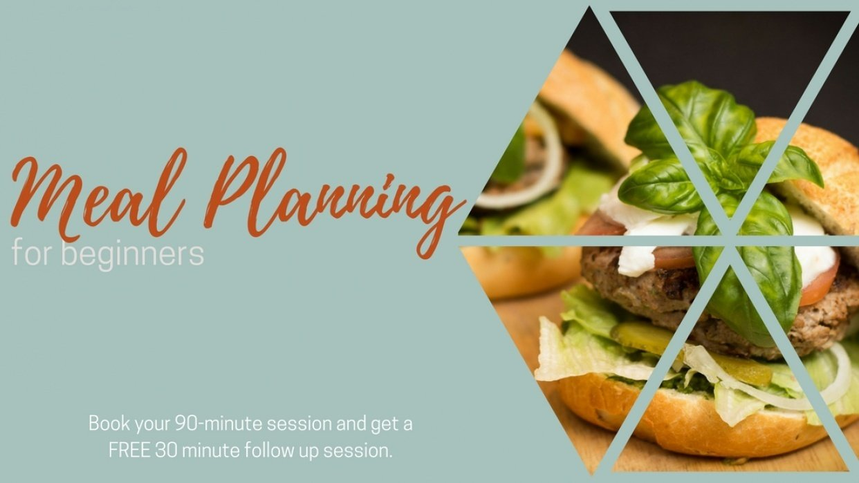 Meal and Menu Planning For Begginers - student project