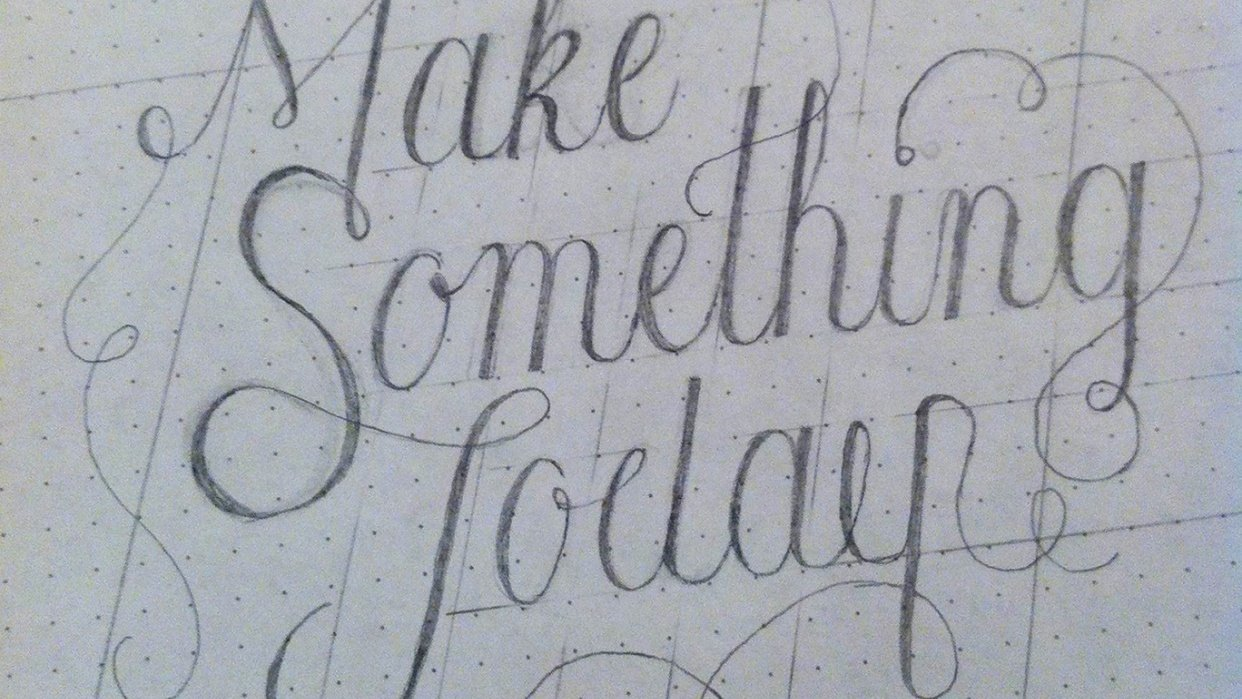 Make Something Today - student project