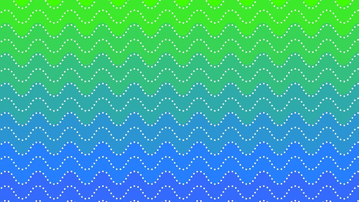 Dotty Ombre Pattern - student project
