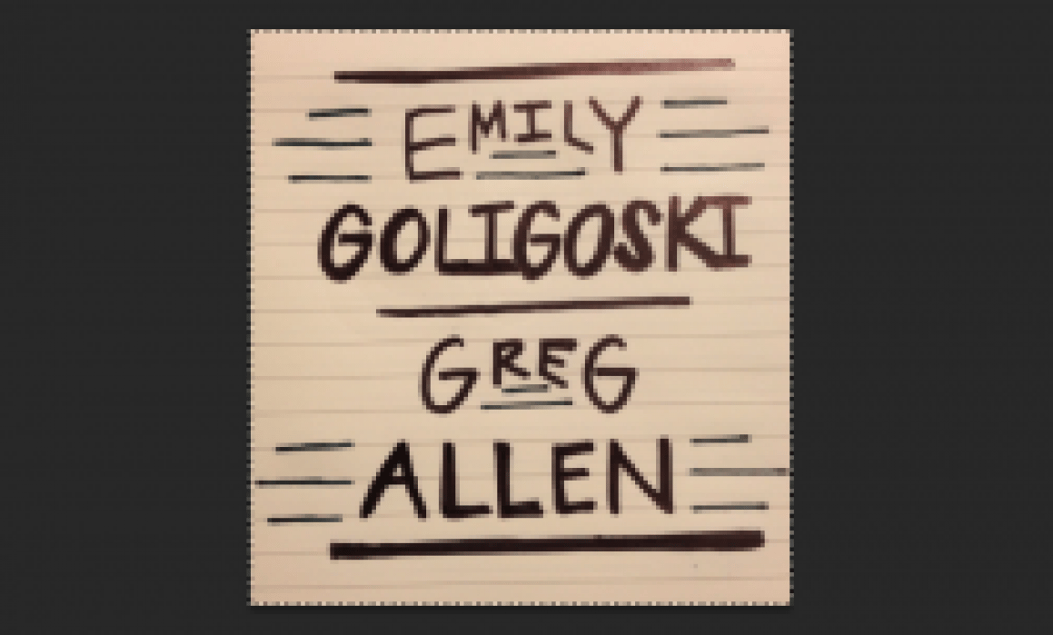 Wedding invite trial lettering - student project