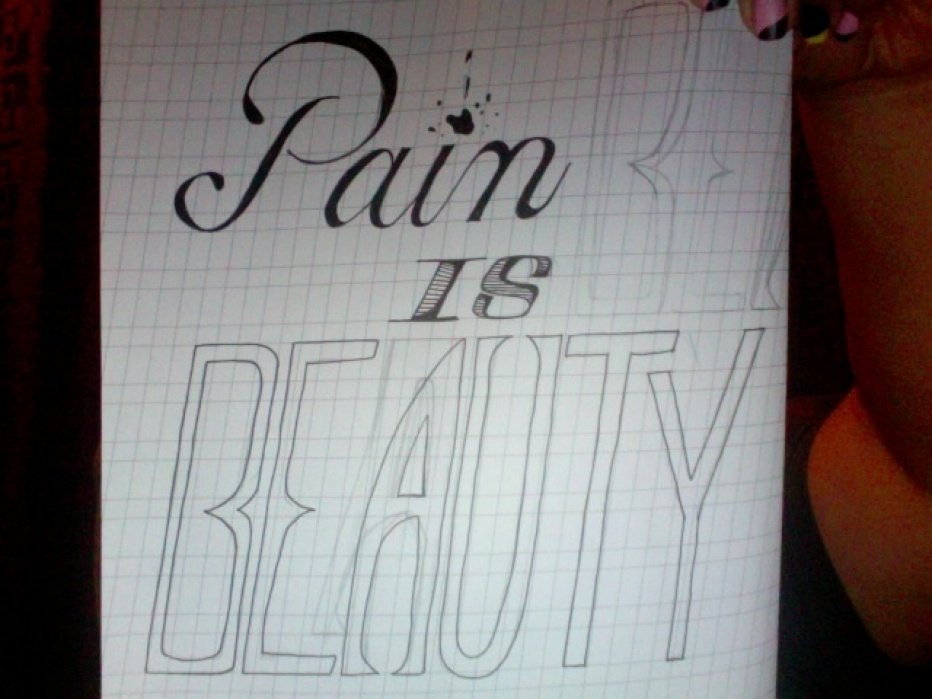 Pain is BEAUTY - student project