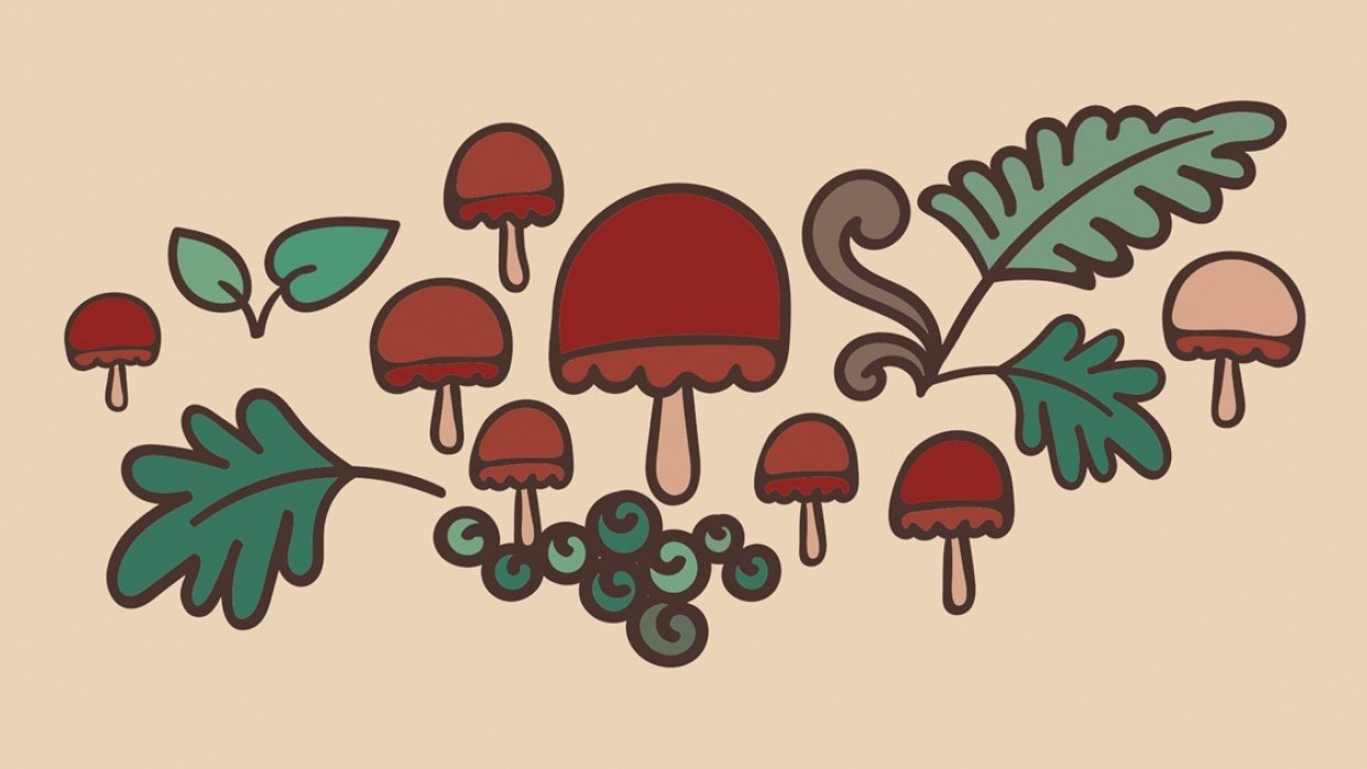 Mushroom Forest - student project