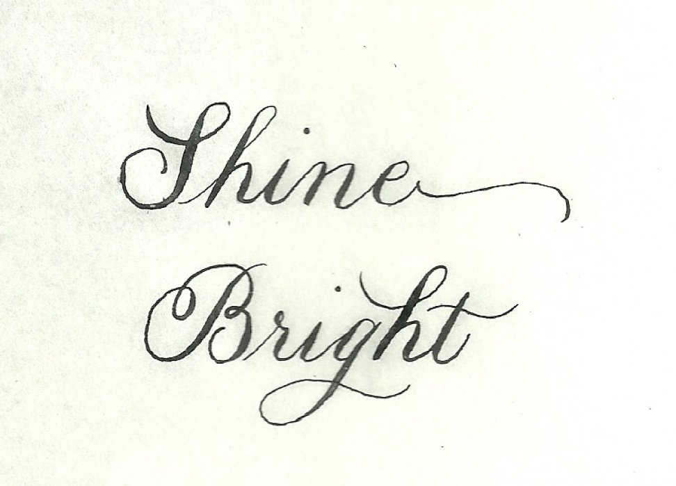 Shine Bright - student project