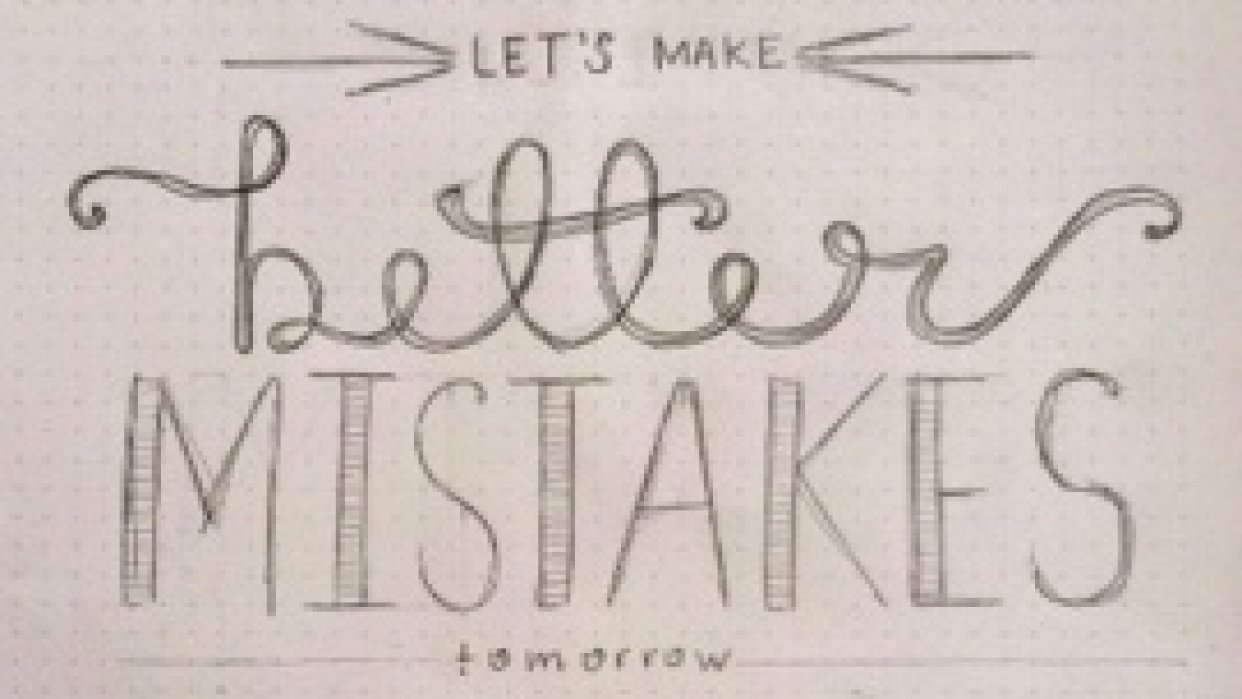 better mistakes tomorrow - student project