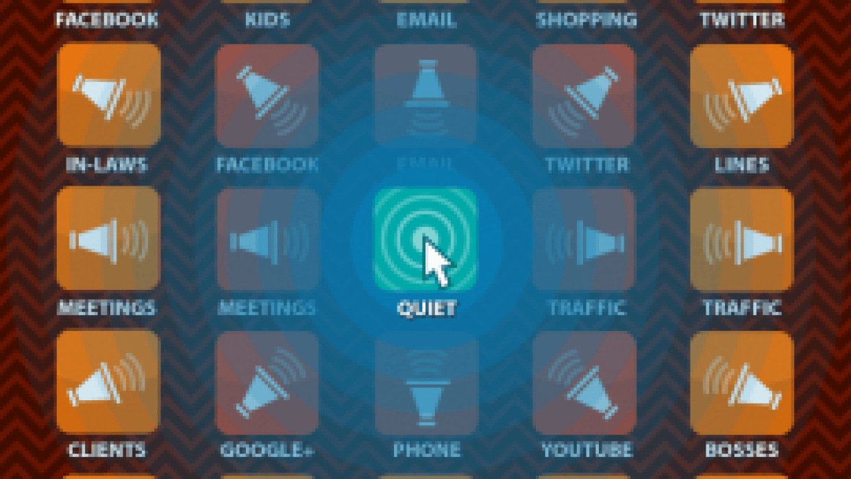 The Quiet App - student project