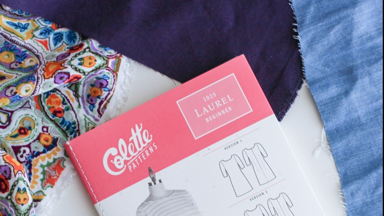 Colette Laurel Dress - student project