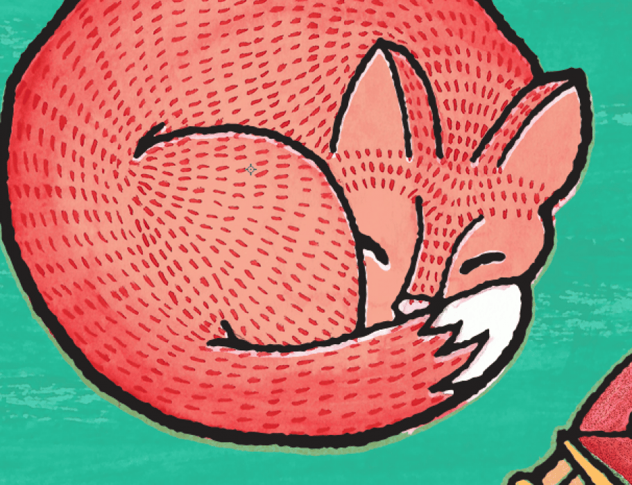 A Dreaming Fox - FINAL - student project