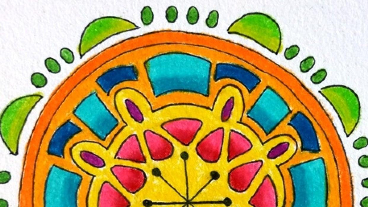 Random Mandalas - student project