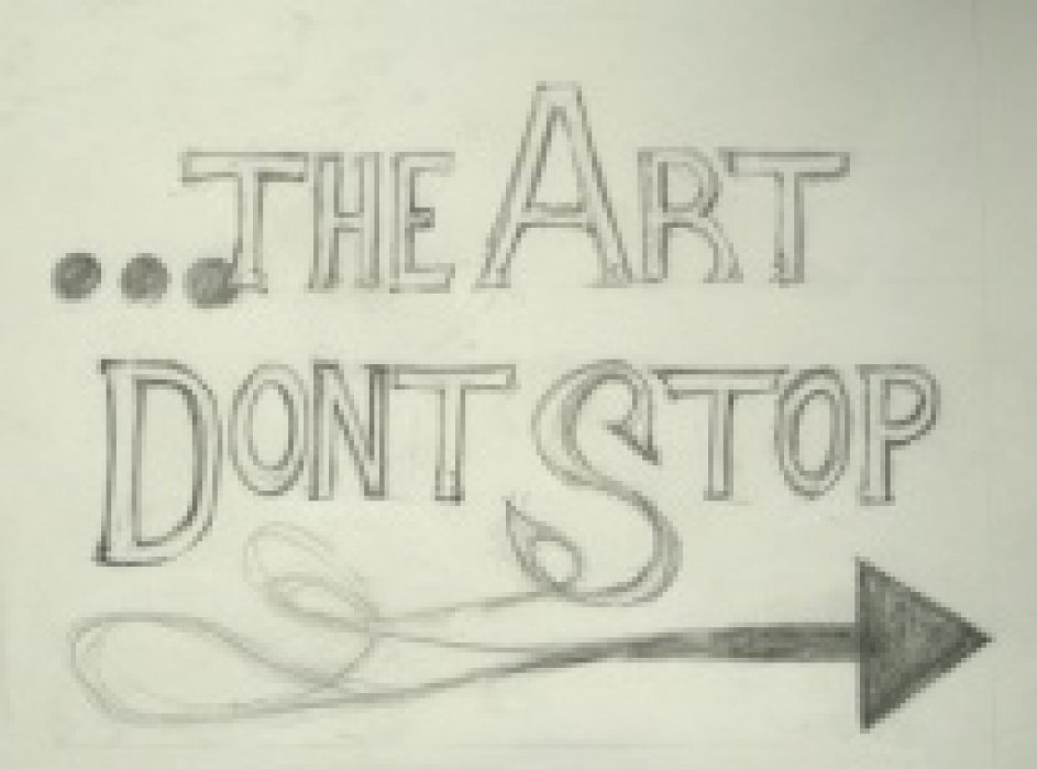 The Art Don't Stop - student project