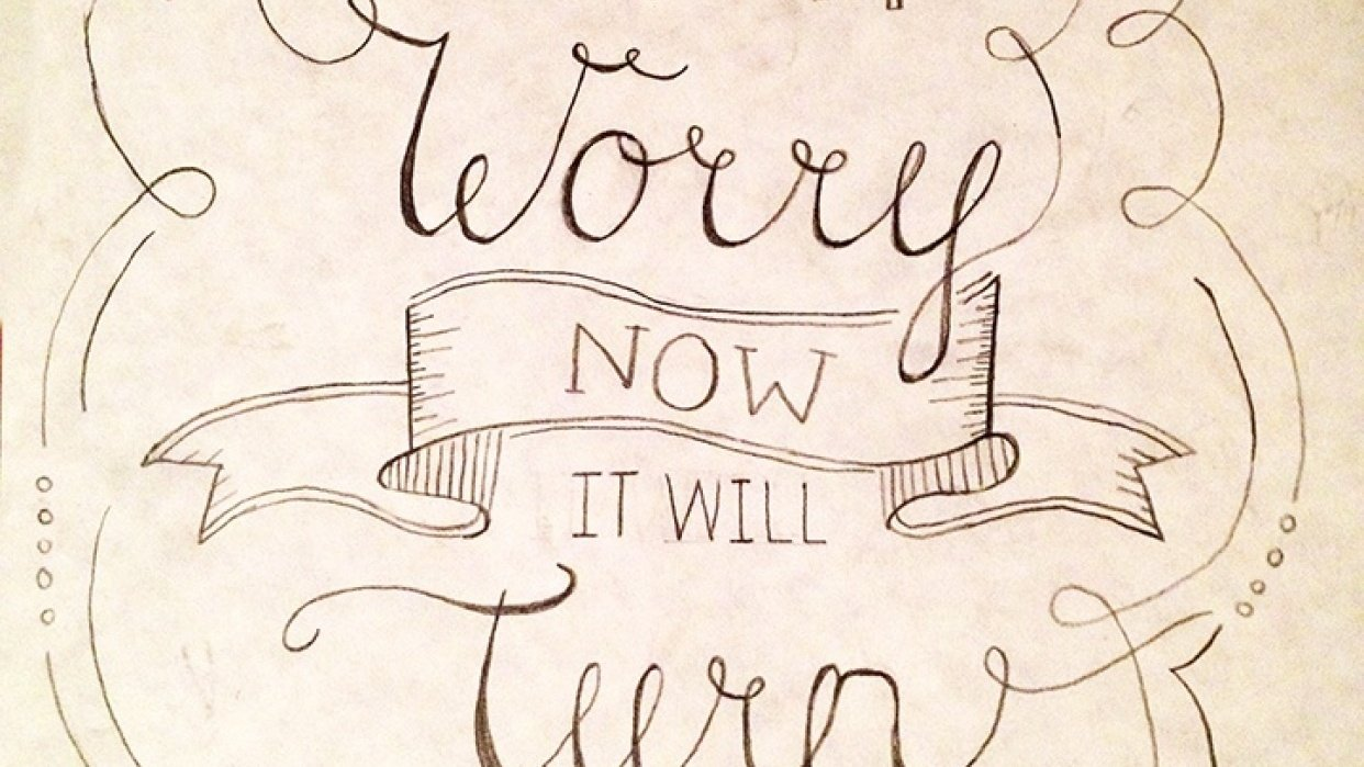 don't worry. - student project