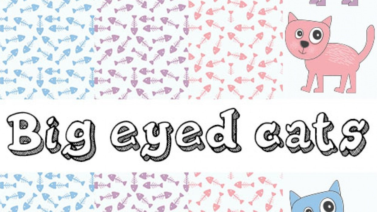 Big eyed cats - student project