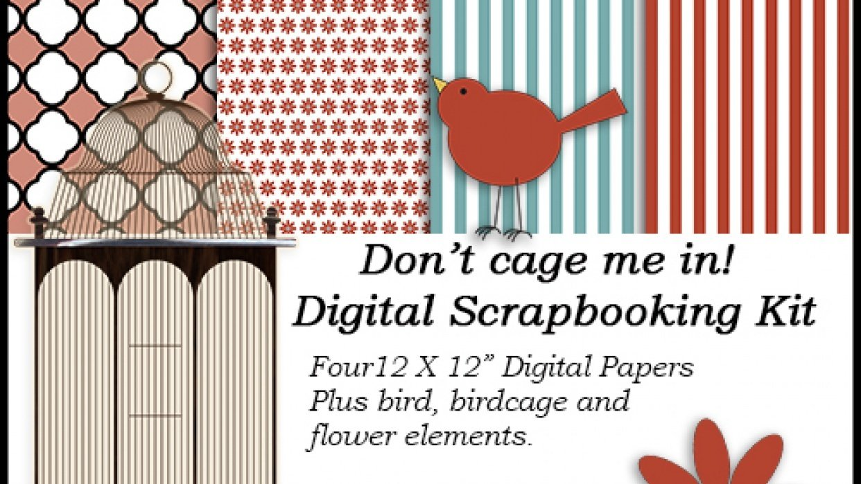 Make & Sell Scrapbook Designs - student project