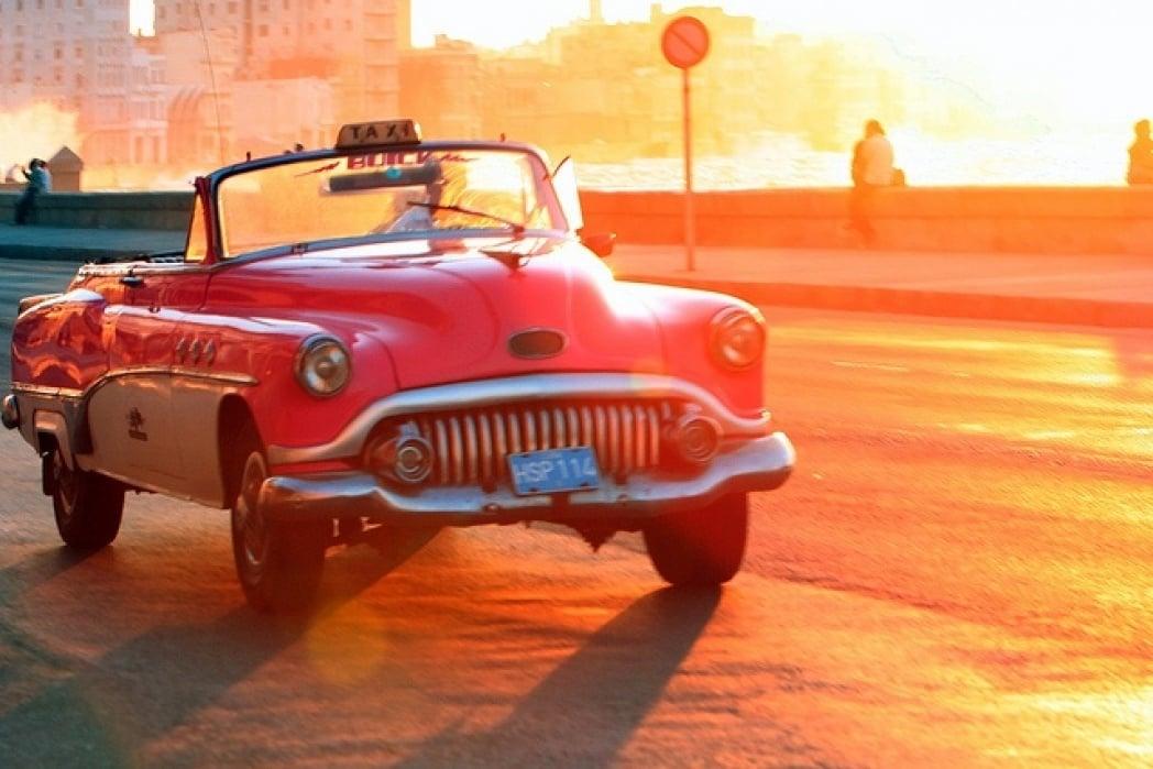 Cuba Travel Destination Landing Page - student project